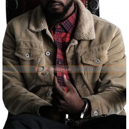 Atlanta Darius (Lakeith Stanfield) Fur Corduroy Jacket