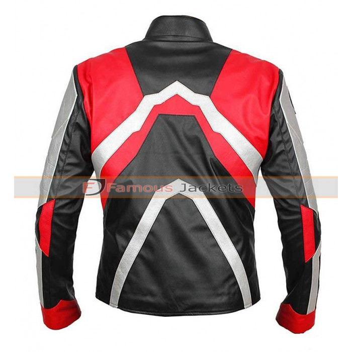add4eafa6 Avengers Endgame Quantum Realm Biker Leather Jacket