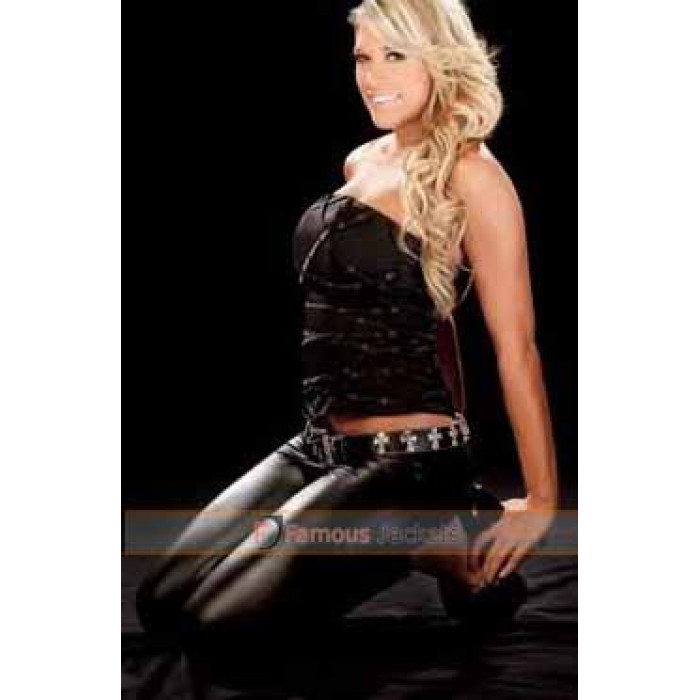 Amateur tabetha Wwe Divas In Leather Pants