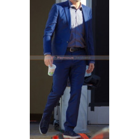 Baby Driver Jon Hamm (Buddy) Blue Suit