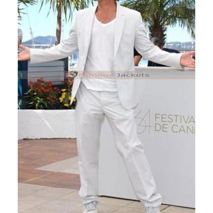 Brad Pitt White Suit For Sale