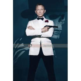 Spectre James Bond 007 Classic White Texudo