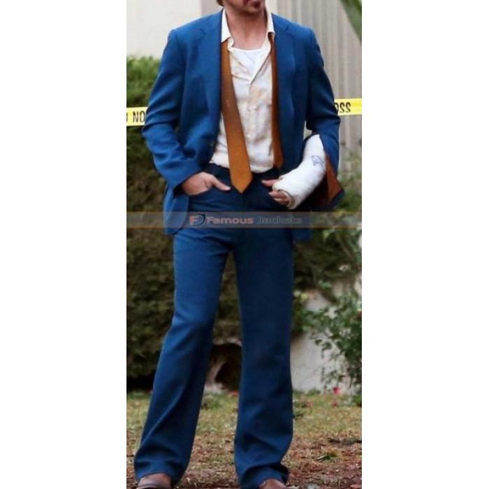 Nice Guys Ryan Gosling (Holland March) Black / Blue Suit