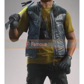 Battlefield Hardline Marcus 'Boomer' Boone Leather Vest