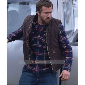 Matthew The Captive Ryan Reynolds Brown Vest
