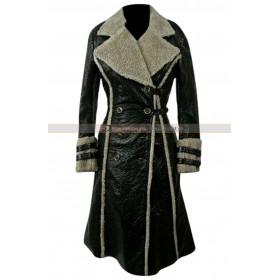Asia Argento XXX Yelena Black Fur Coat