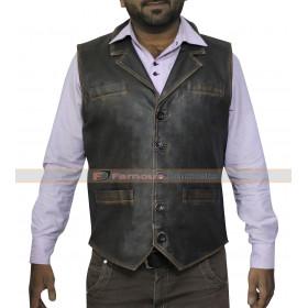 Hell on Wheels Cullen Bohannon (Anson Mount) Leather Vest