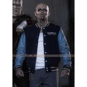 Suicide Squad El Diablo Letterman Varsity Jacket