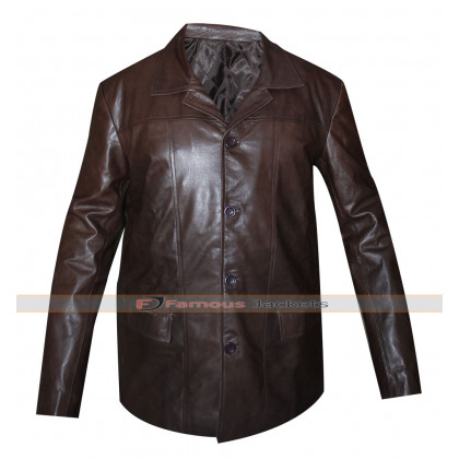 24 TV Series Jack Bauer Brown Leather Jacket