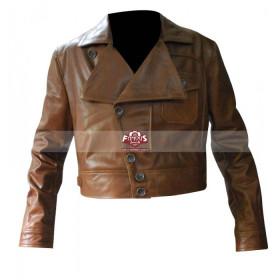 Aviator Leonardo Dicaprio Brown (Howard Hughes) Jacket