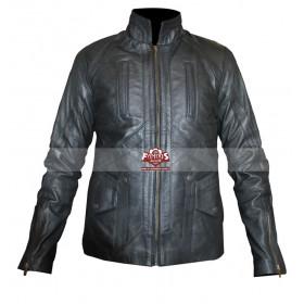 Captain America Winter Soldier Bucky Barnes Leather Jacket