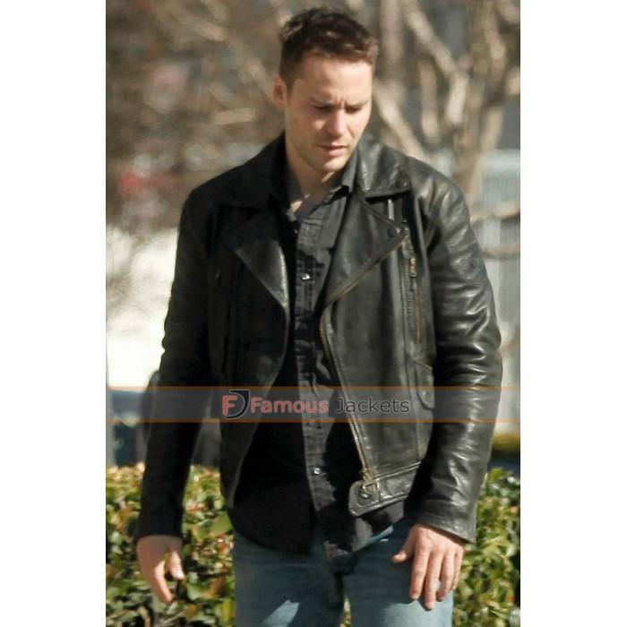 True Detective Season 2 Taylor Kitsch (Paul Woodrugh) Black Jacket