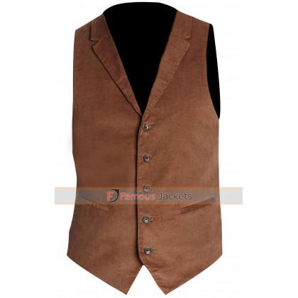 Fantastic Beasts Newt Scamander Brown Vest