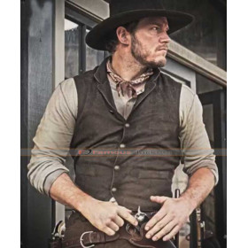 Josh Farraday Magnificent Seven Chris Pratt Brown Vest