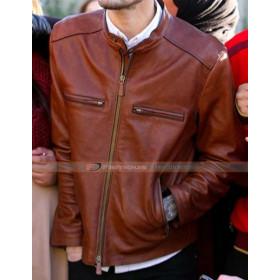 Zayn Malik Brown Leather Jacket