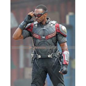 Captain America Civil War Anthony Mackie (Sam Wilson) Costume Jacket