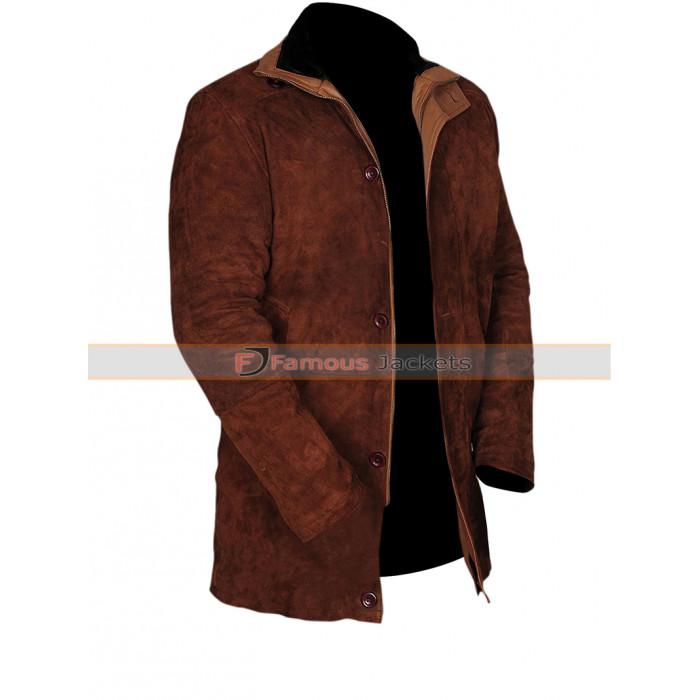 c3233ccebda Longmire Robert Taylor (Sheriff Walt) Suede Leather Jacket