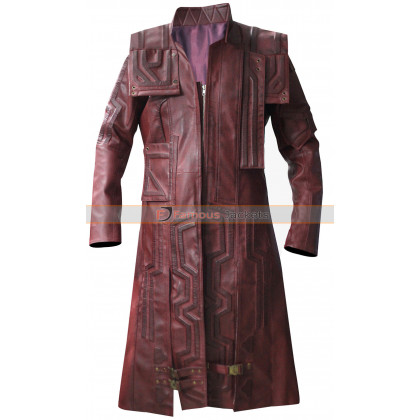 Guardians of the Galaxy Vol 2 Chris Pratt (Peter Quill) Coat