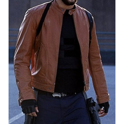 Blade Trinity Ryan Reynolds Leather Jacket