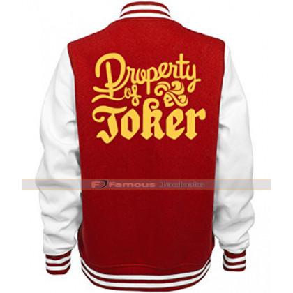 Property Of Joker Varsity Jacket