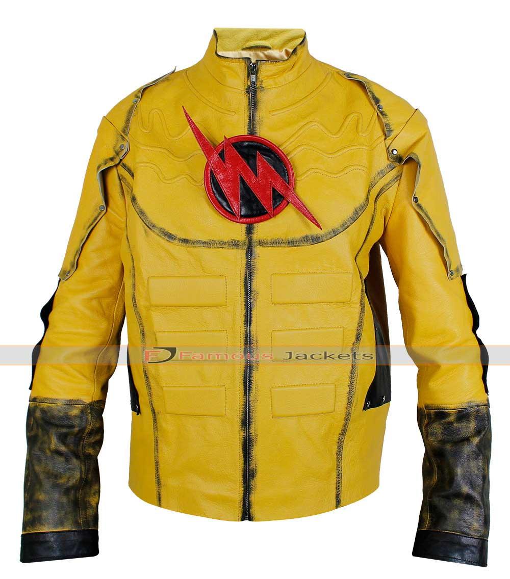 Black leather jacket costume