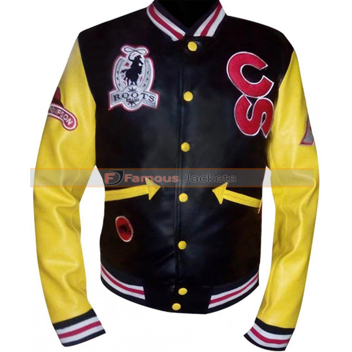 Calgary Stampede Cowboy Roots Black With Yellow Sleeves