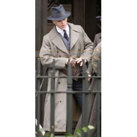 Chris Pine Wonder Woman Trench Grey Coat