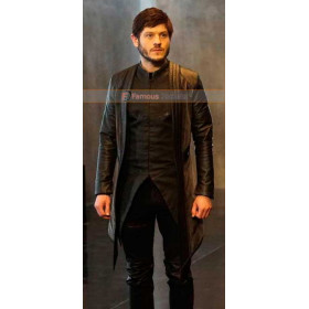 Maximus Inhumans Iwan Rheon Leather Coat