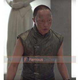 Karnak Inhumans Ken Leung Leather Vest