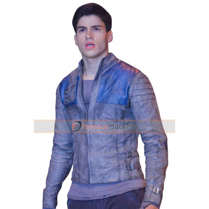 Krypton Seyg-El Cameron Cuffe Mens Leather Jacket