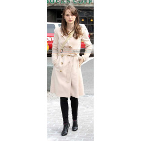 Natalie Portman Jane Got A Gun Trench Coat