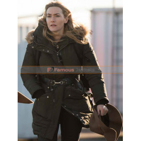 Kate Winslet The Mountain Between Us Cotton Coat