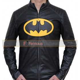 The Lego Batman Padded Black Leather Jacket