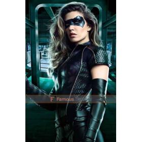 Season 6 Arrow Dinah Drake Leather Jacket