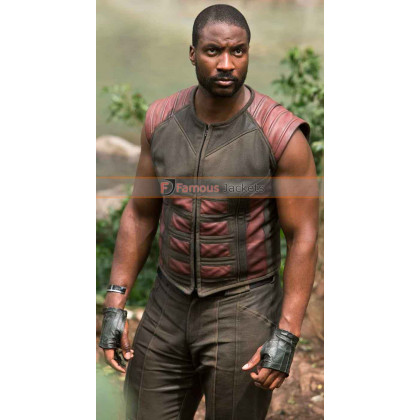 Gorgon Inhumans Eme Ikwuakor Leather Vest