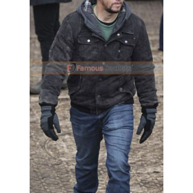 Mark Wahlberg Daddy's Home 2 (Dusty) Black Jacket