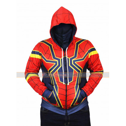 Spider Man|Avengers Infinity War Hoodie Jacket