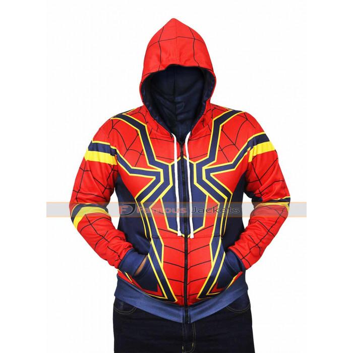 Spider Man Avengers Infinity War Hoodie Jacket