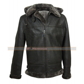 Men's B3 Aviator RAF Shearling Sheepskin Leather Jacket