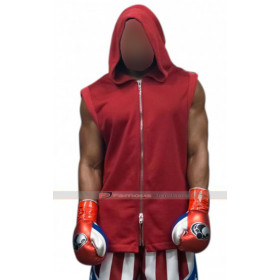 Adonis Johnson Creed 2 Michael B. Jordan Red Vest Hoodie