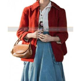 I Am The Night India Eisley Red Wool Jacket