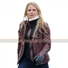 Emma Swan Once Upon a Time Brown Jacket