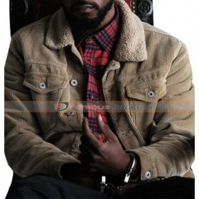 Atlanta Darius (Lakeith Stanfield) Fur Corduroy Jacket