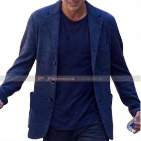 Avengers Infinity War Mark Ruffalo Blue Wool Jacket Coat