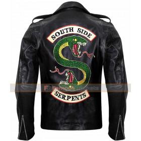 Riverdale Southside Serpents Jughead Jones Cole Sprouse Leather Jacket
