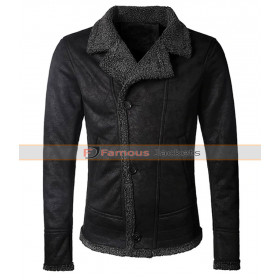 Men's Autumn Vintage Warm Fur Collar Jacket