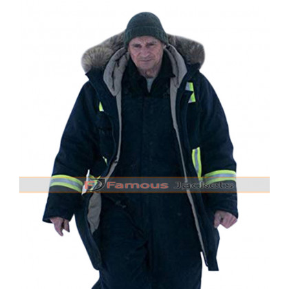 Liam Neeson Cold Pursuit Parka Coat