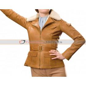 Amelia Earhart Night At The Museum 2 Fur Collar Jacket
