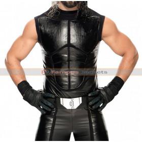 Seth Rollins WWE SmackDown Leather Vest