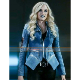 The Flash S4 Caitlin Snow Blue Frost Jacket